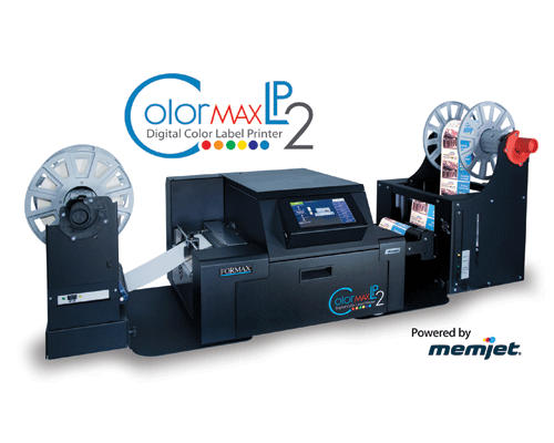 ColorMaxLP2 Digital Color Label Printer